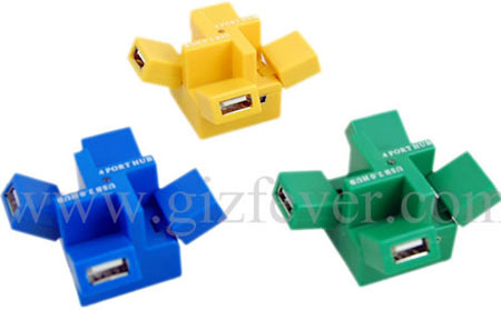 USB-концентратор в кубе