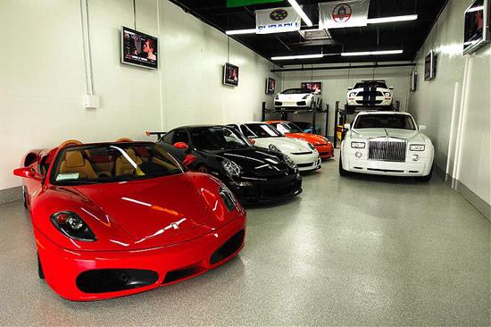 Как буржуйцы гаражами меряются
