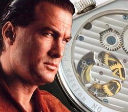 Стивен Сигал запускает эксклюзивную марку часов класса люкс