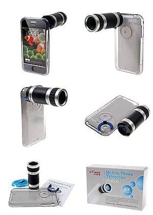 Оптический зум для iPhone