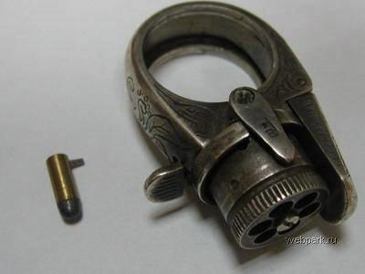 Кольцо - пистолет