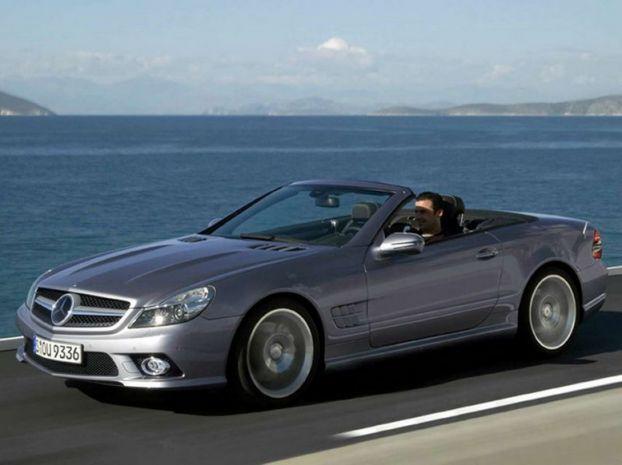 Mercedes SL — Фейслифтинг