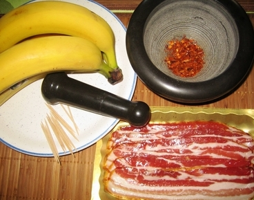 Не много экзотики… «бананы в мясе».