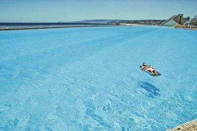Самый большой в мире плавательный бассейн