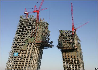 """Новое чудо света: китайские """"падающие небоскребы"""""""