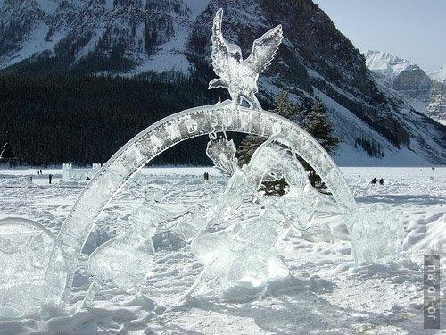 Лёд и снег...