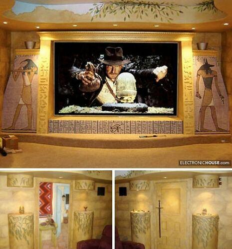 10 самых оригинальных домашних кинотеатров