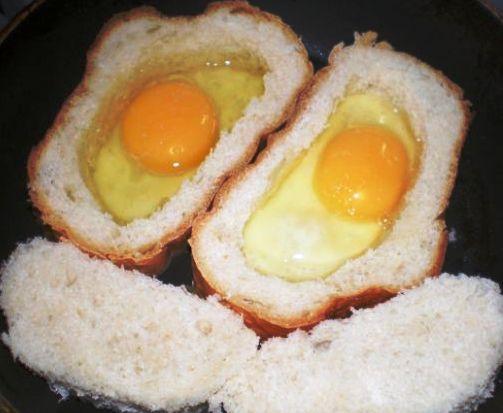 Вариант быстрого завтрака.