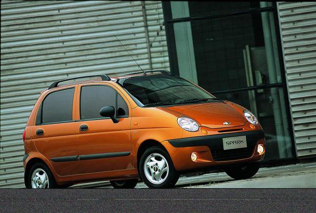 Chevrolet Spark — Еще один дешевый авто.