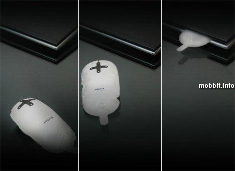 Надувная мышка для ноутбуков (концепт)
