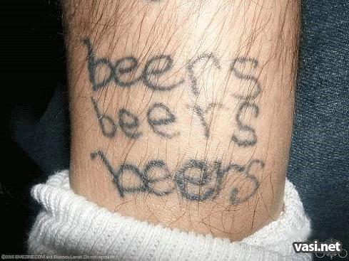 Самые глупые тату