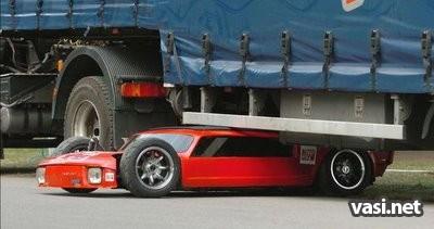 Необычно тонкая машина