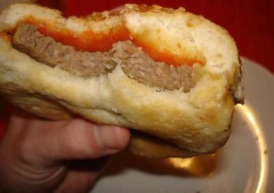 """""""Грандиозное"""" изобретение - консервированный чизбургер!"""