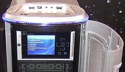 Silverstone расширяет модельный ряд корпусов с ЖК-дисплеями