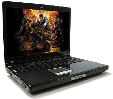 Xtreme XL8 - мощнейший игровой ноутбук