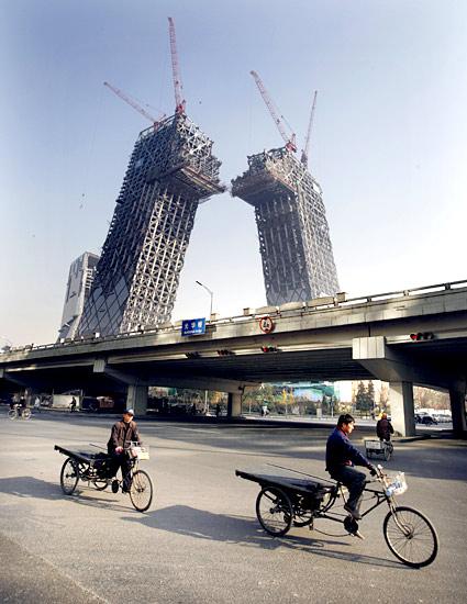 Штаб-квартира телевидения CCTV в Пекине
