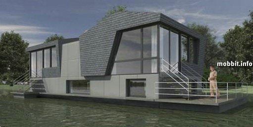 Плавающие дома в Голландии – не прихоть, а необходимость