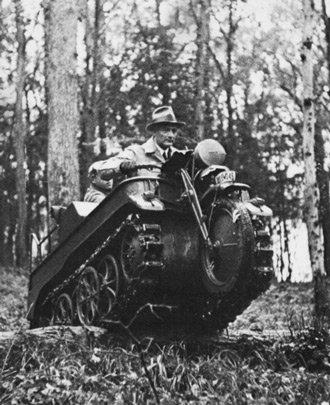 Гусеничный мотоцикл kleines Kettenkraftrad Sd.Kfz.2