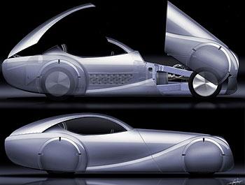 Автомобиль будущего от Morgan Motor Company