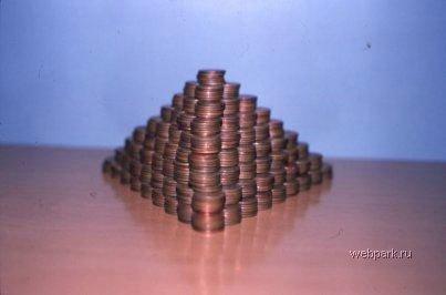 Что можно сделать из монеток?