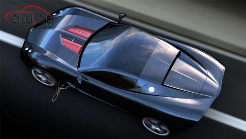 Голландские дизайнеры сделали новый Corvette