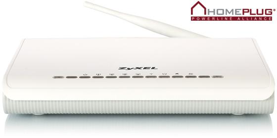 Первый ADSL интернет-центр оснащенный HomePlug AV