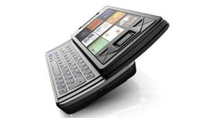 Коммуникатор Sony Ericsson с выдвижной клавиатурой