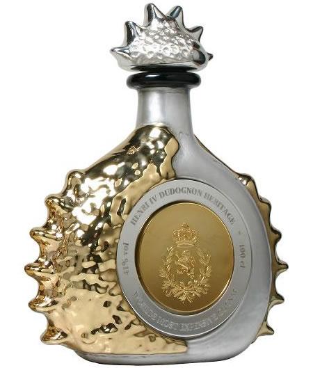 Самый дорогой в мире коньяк Henri IV Dudognon Heritage