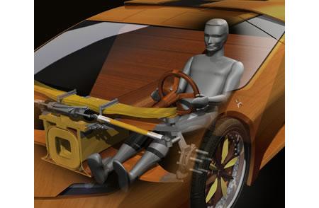 Первый в мире скоростной деревянный автомобиль