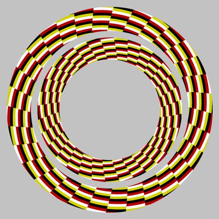 Оптические иллюзии движения