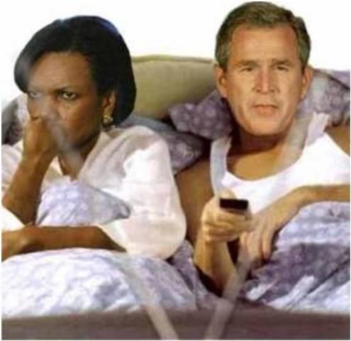 Джордж Буш и Кондолиза Райс. История любви