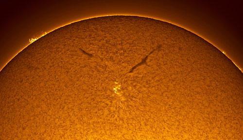 Удивительные снимки поверхности солнца