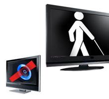 Представлен первый компьютер и телевизор для слепых