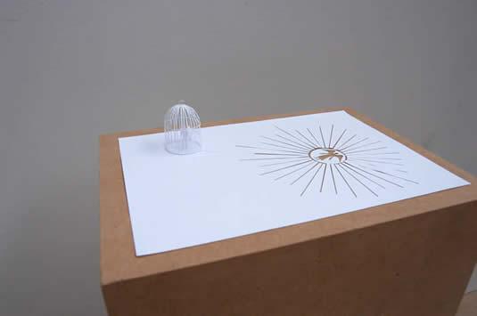 Peter Callesen - бумажный арт. Кружево из ничего.