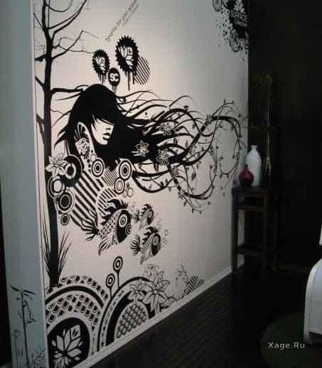 Татуировки на стены