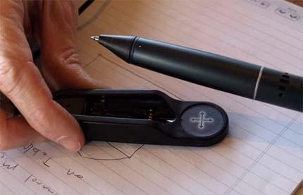 Ручка, которая сохраняет записи в файл
