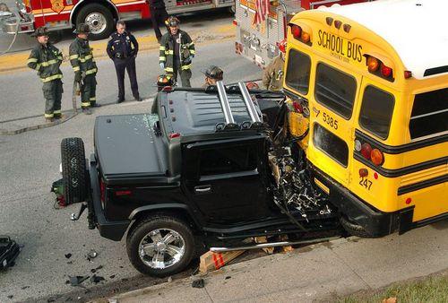 Cтрашные аварии на автодорогах