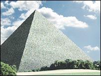 В Германии планируют хоронить умерших в пирамиде