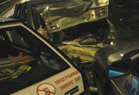 Уникальное фото с места ДТП на трассе Минск — Микашевичи