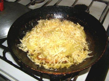 Картофельные кармашки с начинкой
