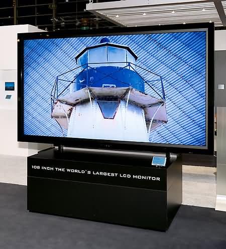 Sharp: ЖК-экран с диагональю 2,75 метра