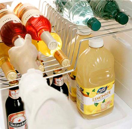Холодильник: вид изнутри