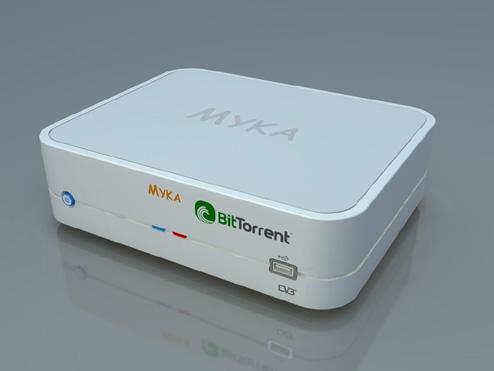 Myka - BitTorrent на TV