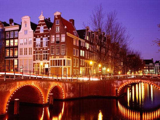 Ночные города мира