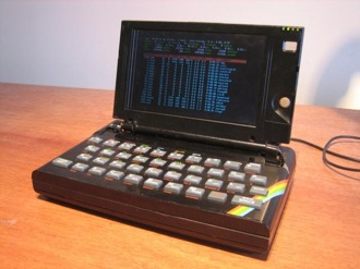 Кадр дня: Ноутбук из ZX Spectrum
