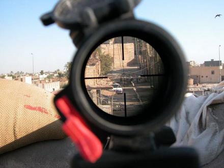 Взгляд на жизнь глазами снайпера