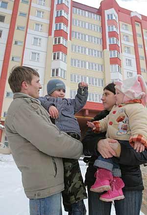 Началось заселение столичного микрорайона Брилевичи