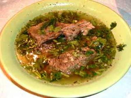 Три блюда Кавказзкой кухни
