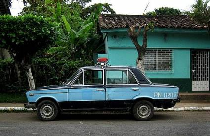 Наши машины на полицейской службе разных стран