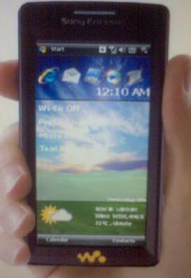 Шпионское фото Sony Ericsson W990 ?